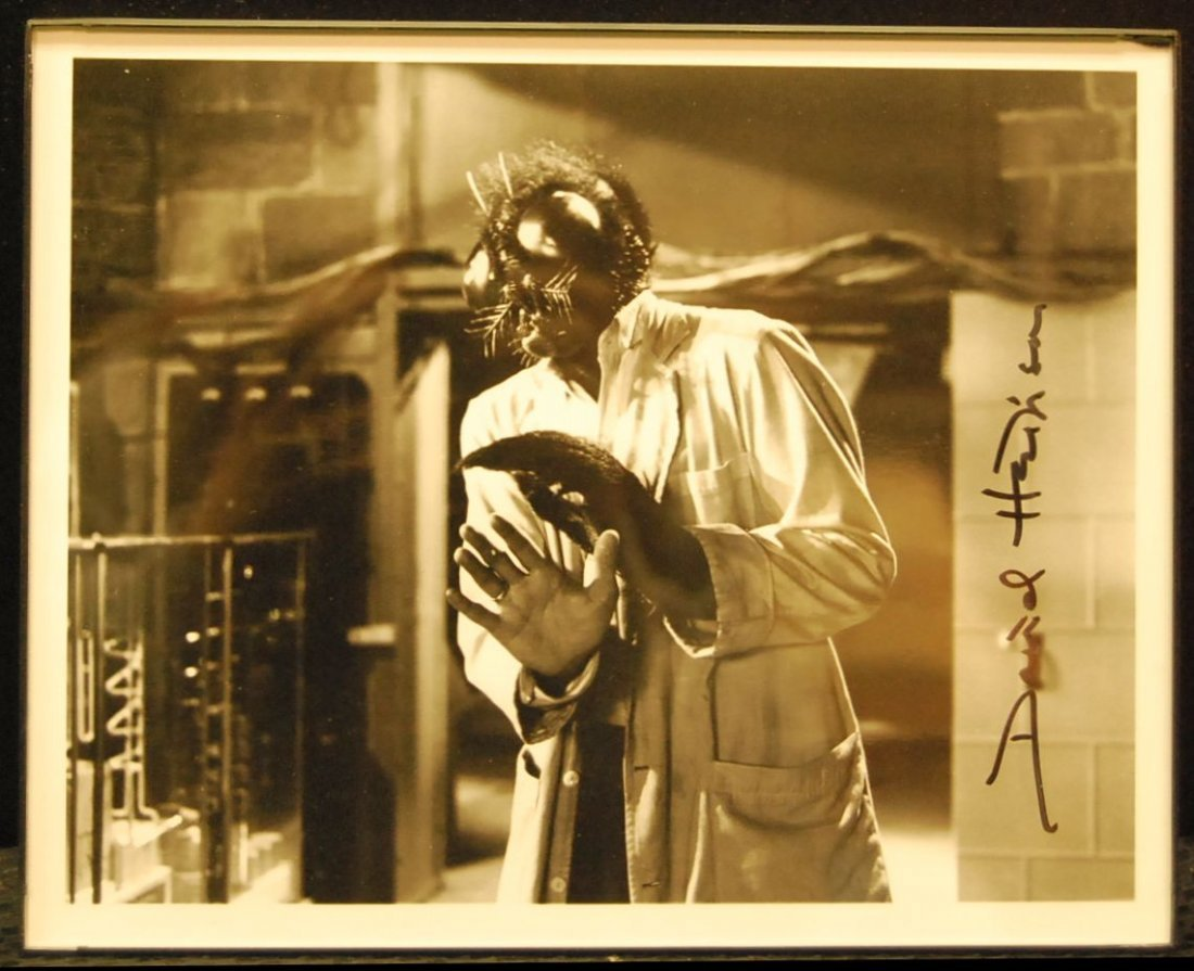 021: Autographed Picture of David Hedison From the Fly