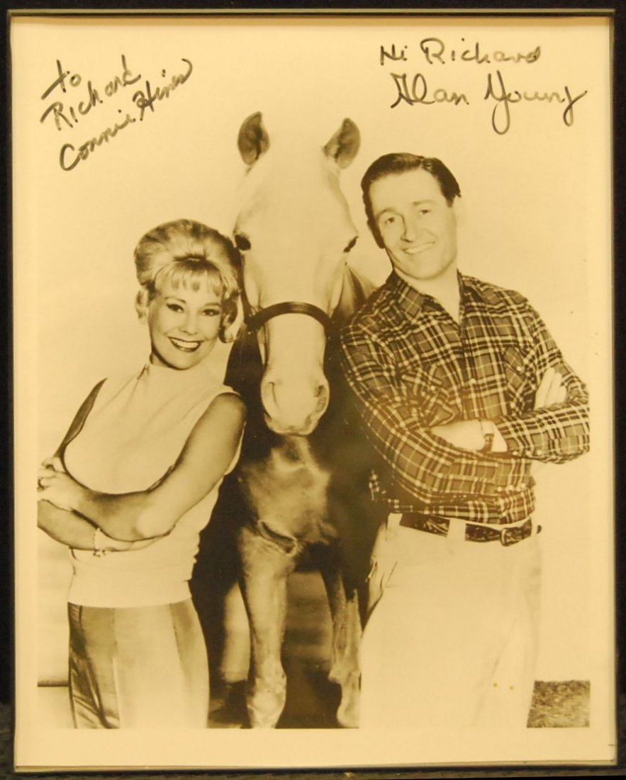 051: Autographed Picture of Mr. Ed Stars