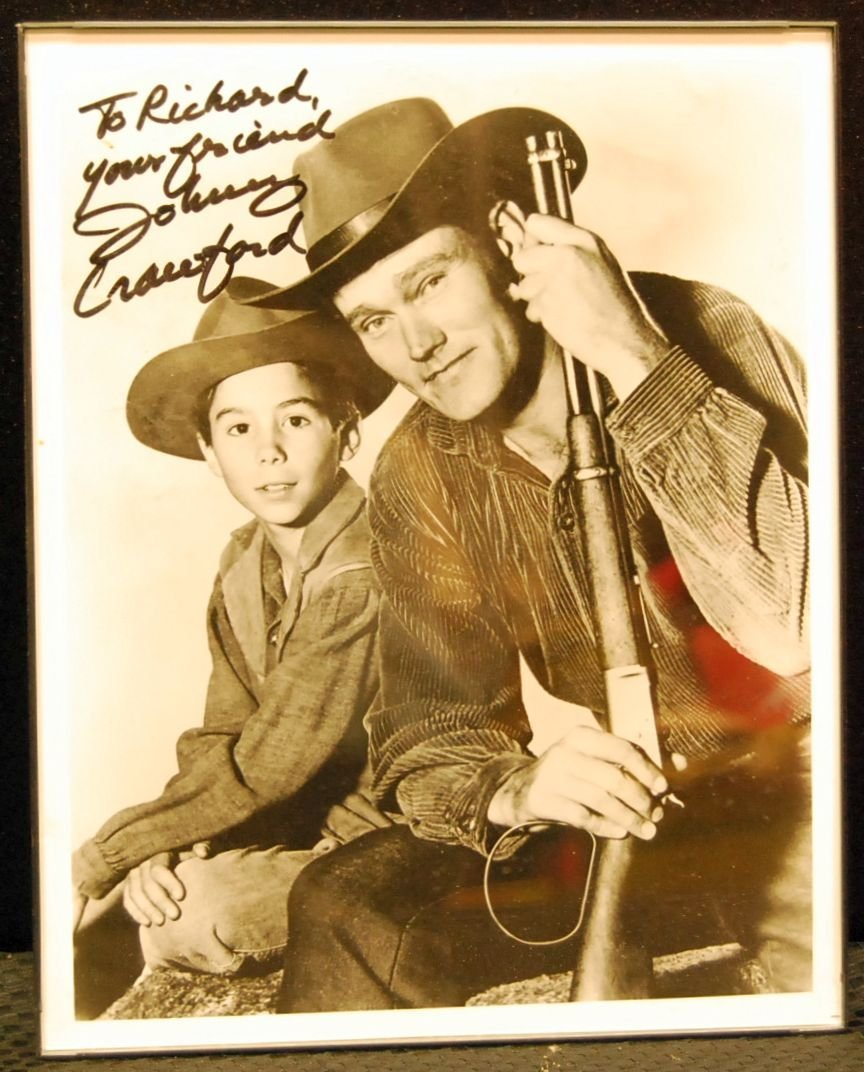 061: Autographed Picture of Rifleman