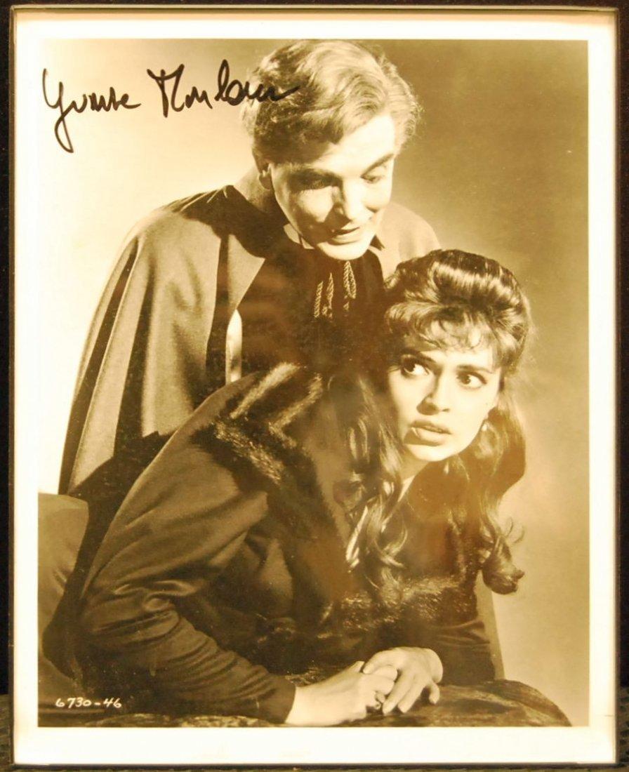 071: Autographed Picture of Yvonne Monlaur