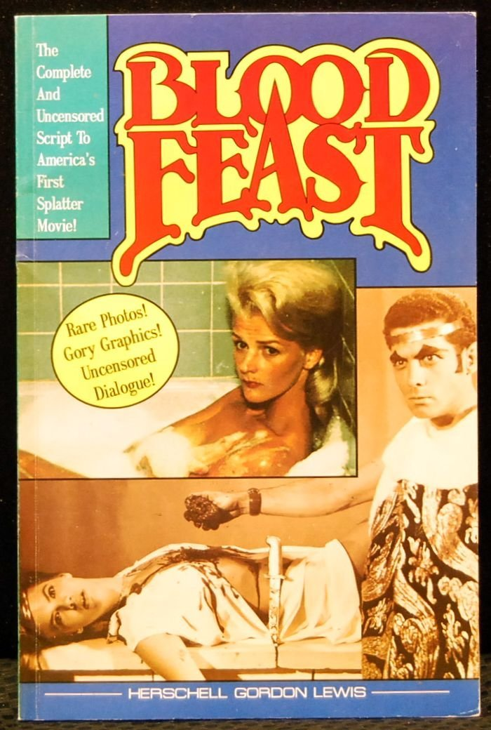 008: Autographed Book Blood Feast