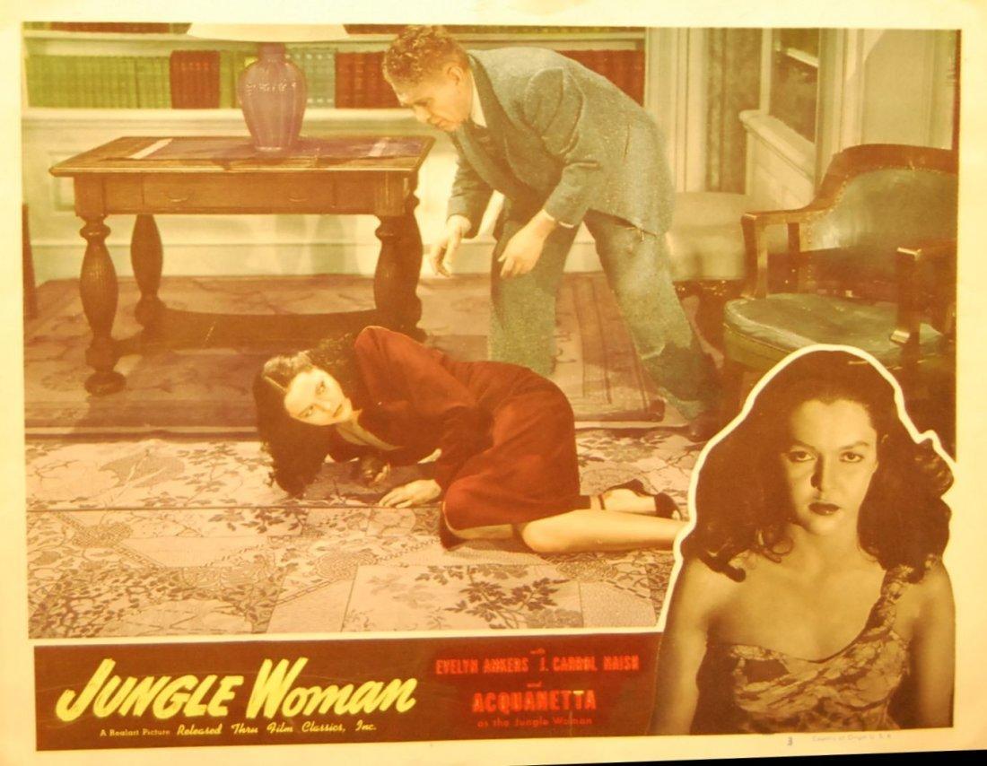010: Jungle Woman Movie Card