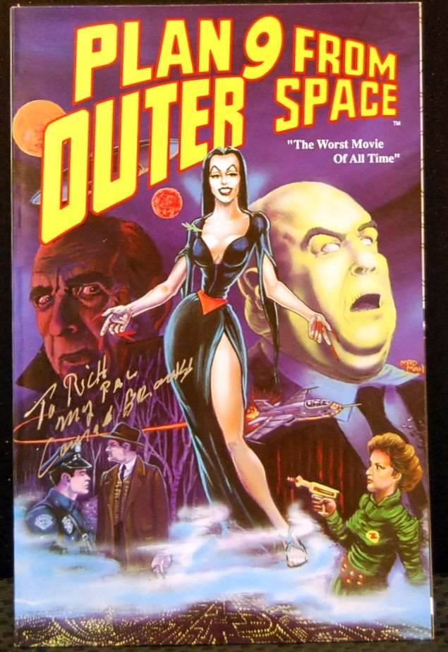 018: Autographed Plan 9 From Outer Space
