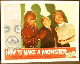 How To Make A Monster Movie Card
