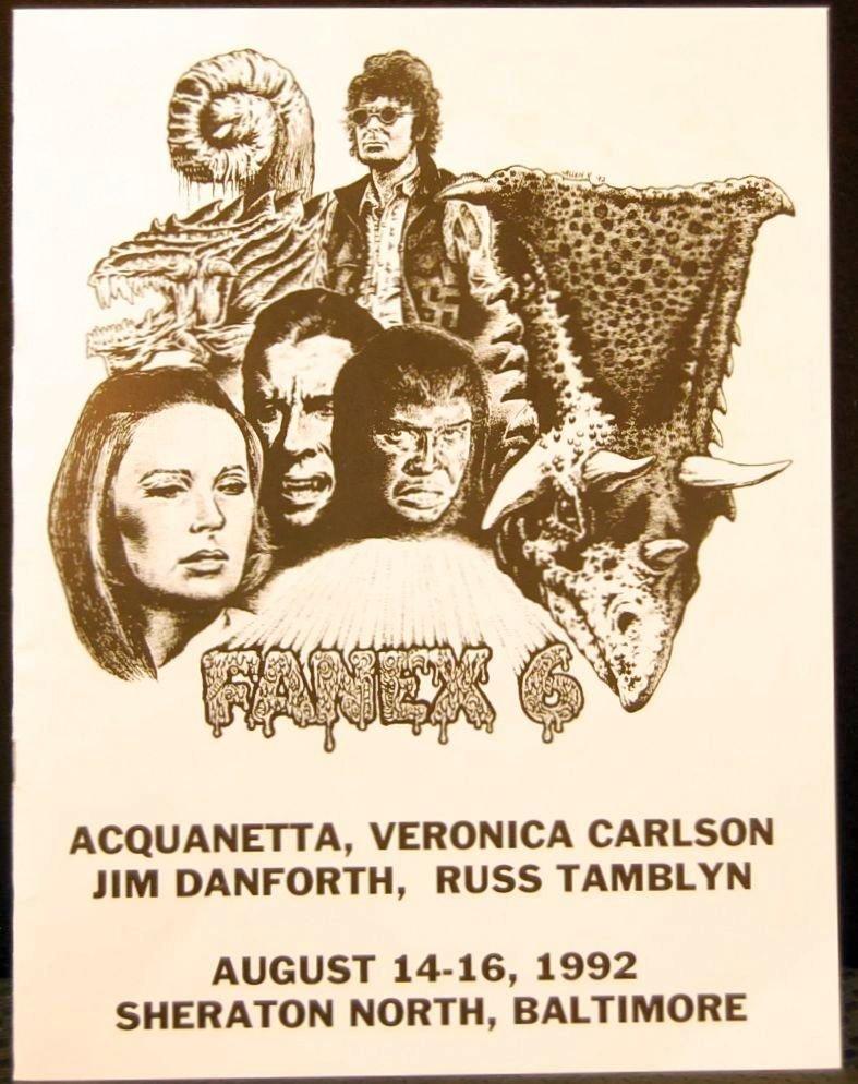 068: Fanex 6 Book Autographed