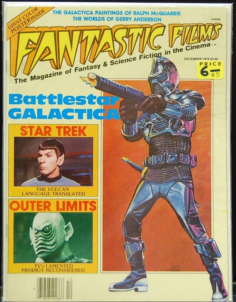 007: Lot of 12 Fantastic Films Magazines