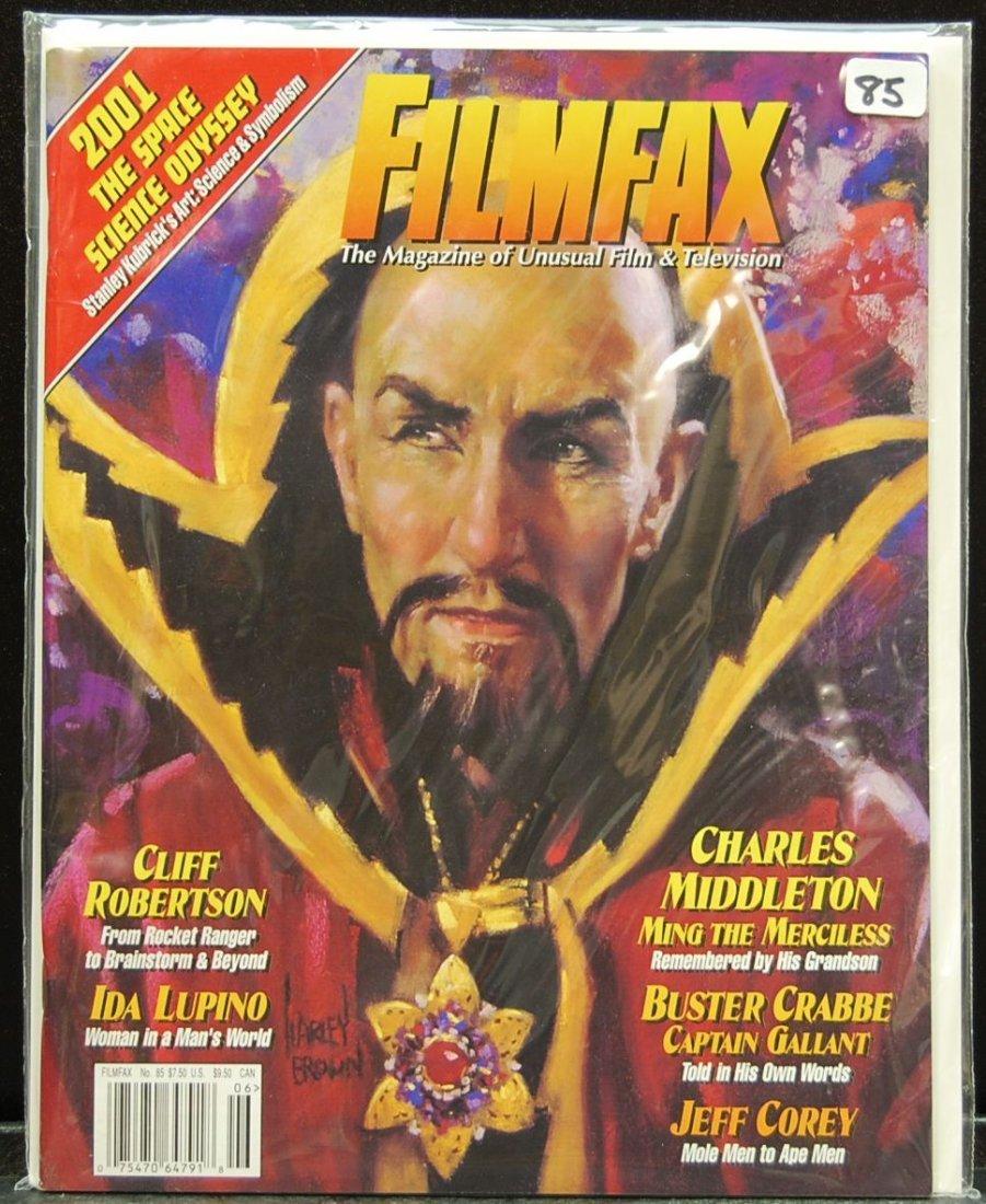 017: Lot of 12 Filmfax Magazines