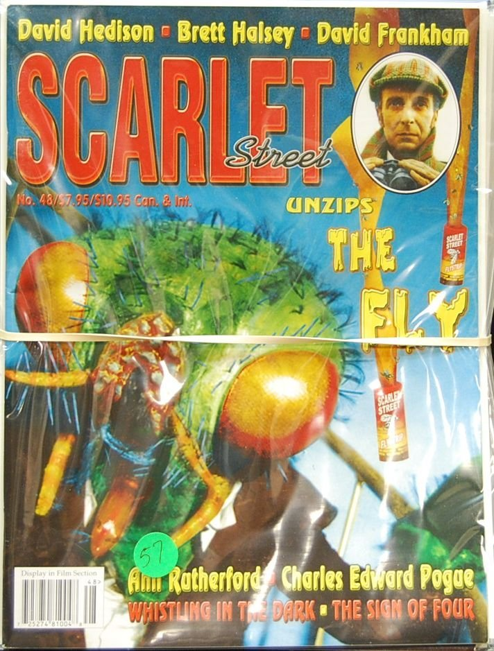 057: Lot of 12 Scarlet Street/Scary Monsters Magazines