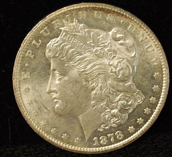003: 1878 CC Silver Dollar