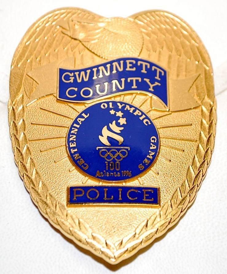 026: Gwinnett County 1996 Centennial Olympic  Police Ba