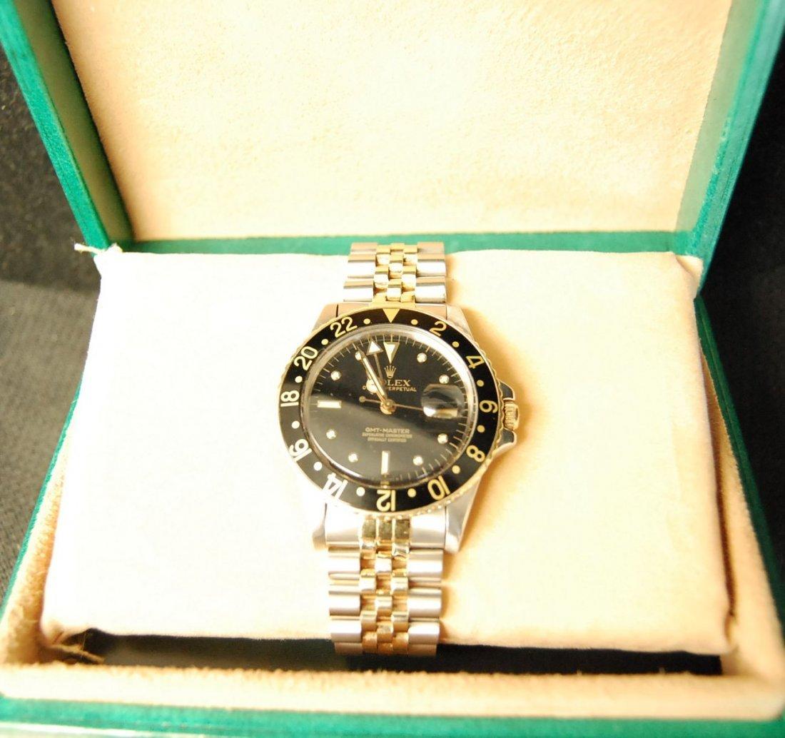 022: Rolex Stainless Steel & 18K Gold GMT-Master Watch - 2