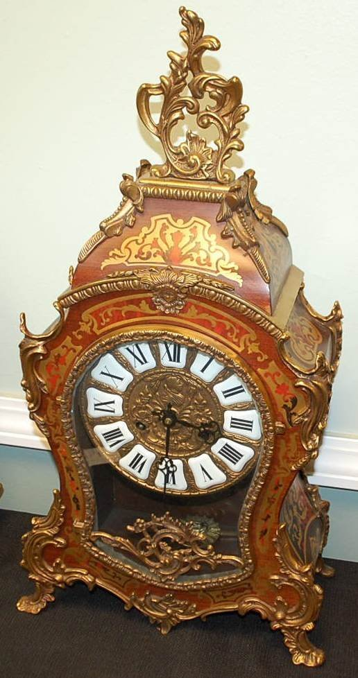 007: FRENCH STYLE BOULLE CLOCK