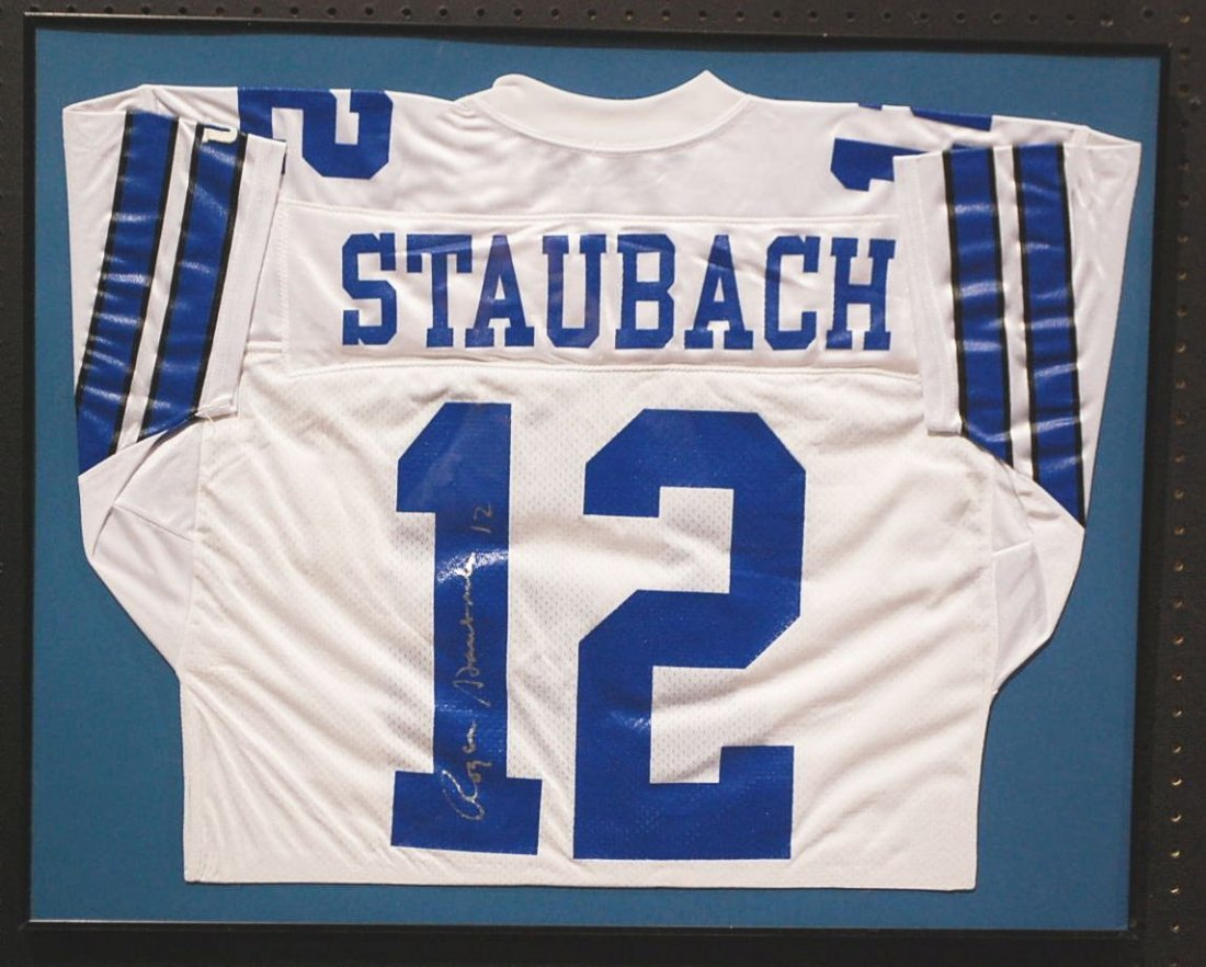 023: AUTOGRAPHED ROGER STAUBACH JERSEY
