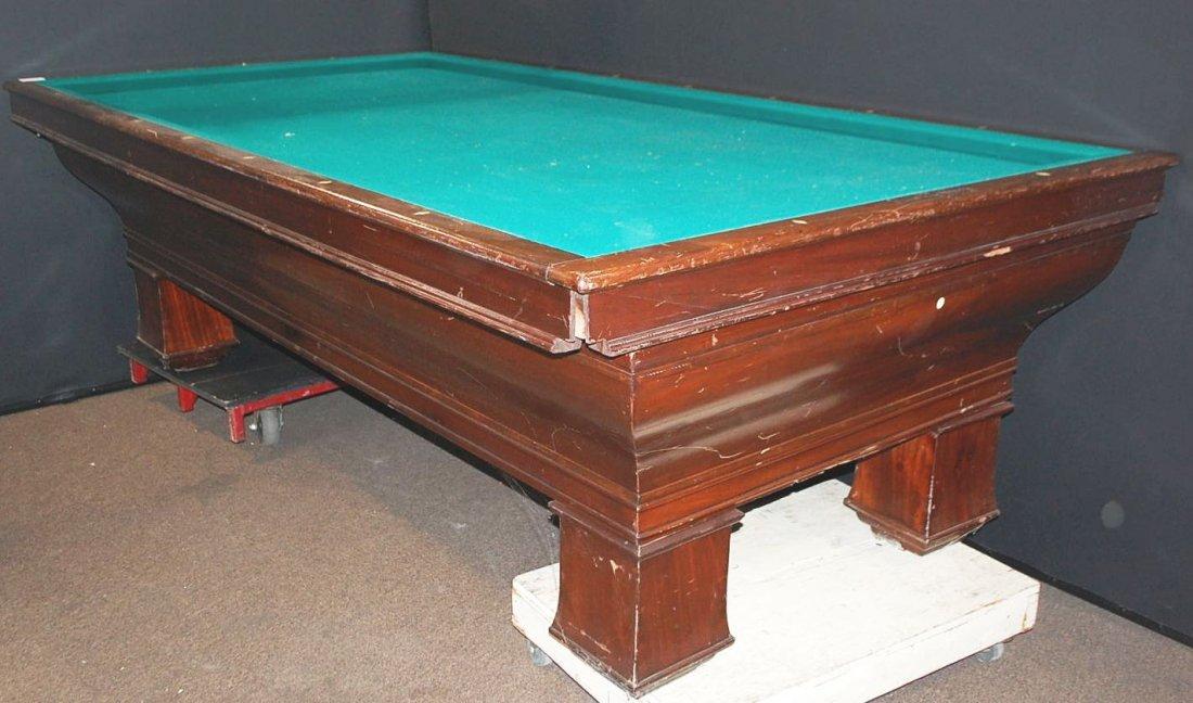 020: BRUNSWICK, BLAKE, COLLENDER BILLIARD TABLE