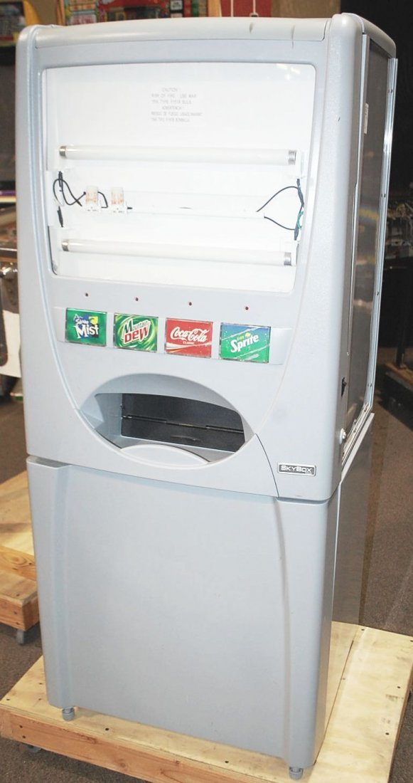 010: NEW SKYBOX DRINK MACHINE