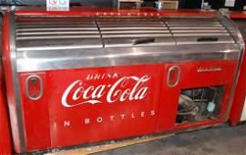 176: TRIPLE DOOR VICTOR COCA COLA DRINK COOLER