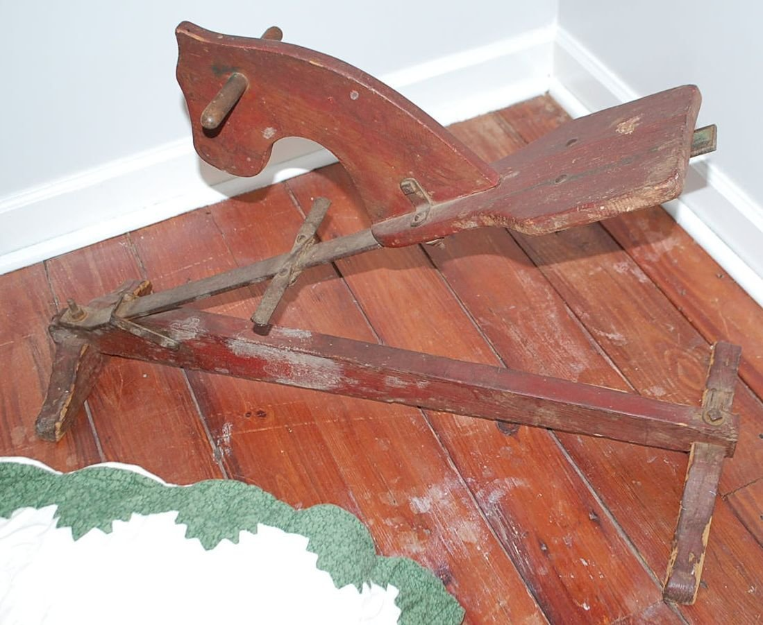 EARLY CHILDS TOY HORSE