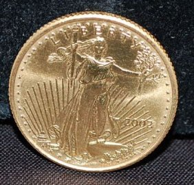 2002 US TEN DOLLAR GOLD COIN