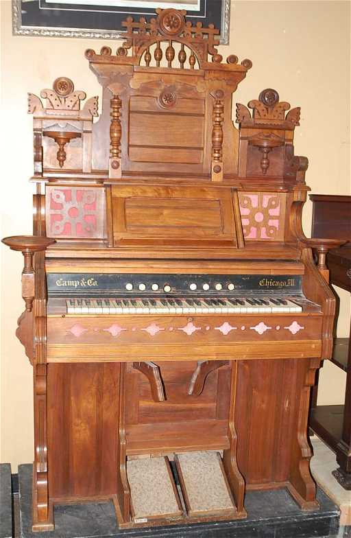 Camp Amp Co Chicago Pump Organ