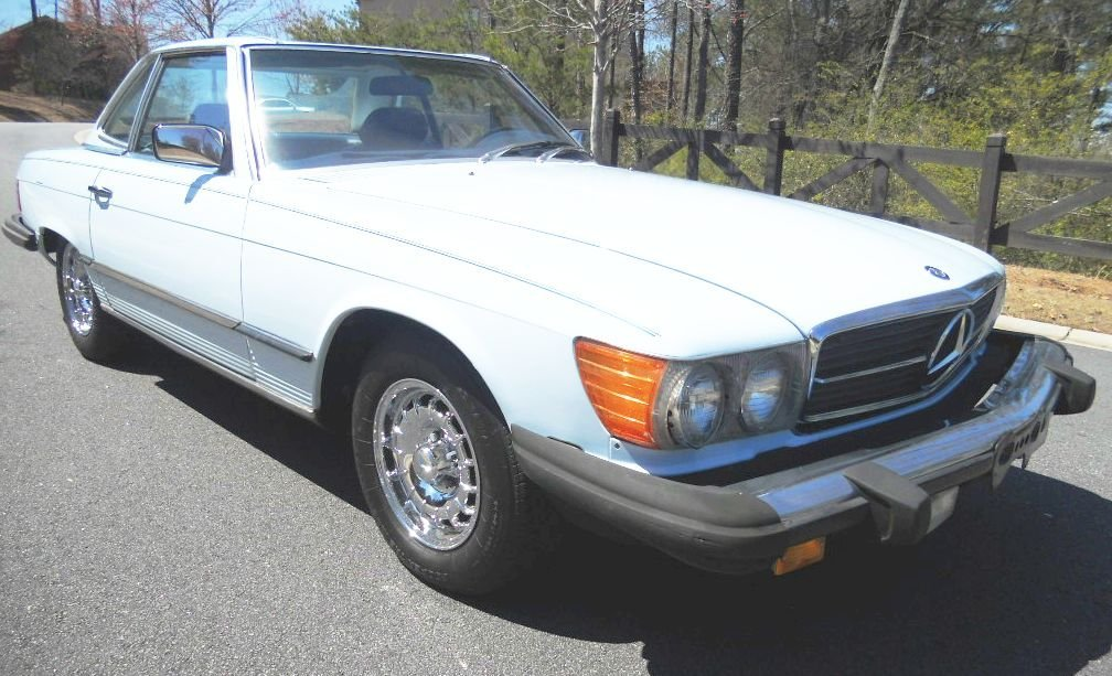 1982 MERCEDES BENZ 380SL CONVERTIBLE