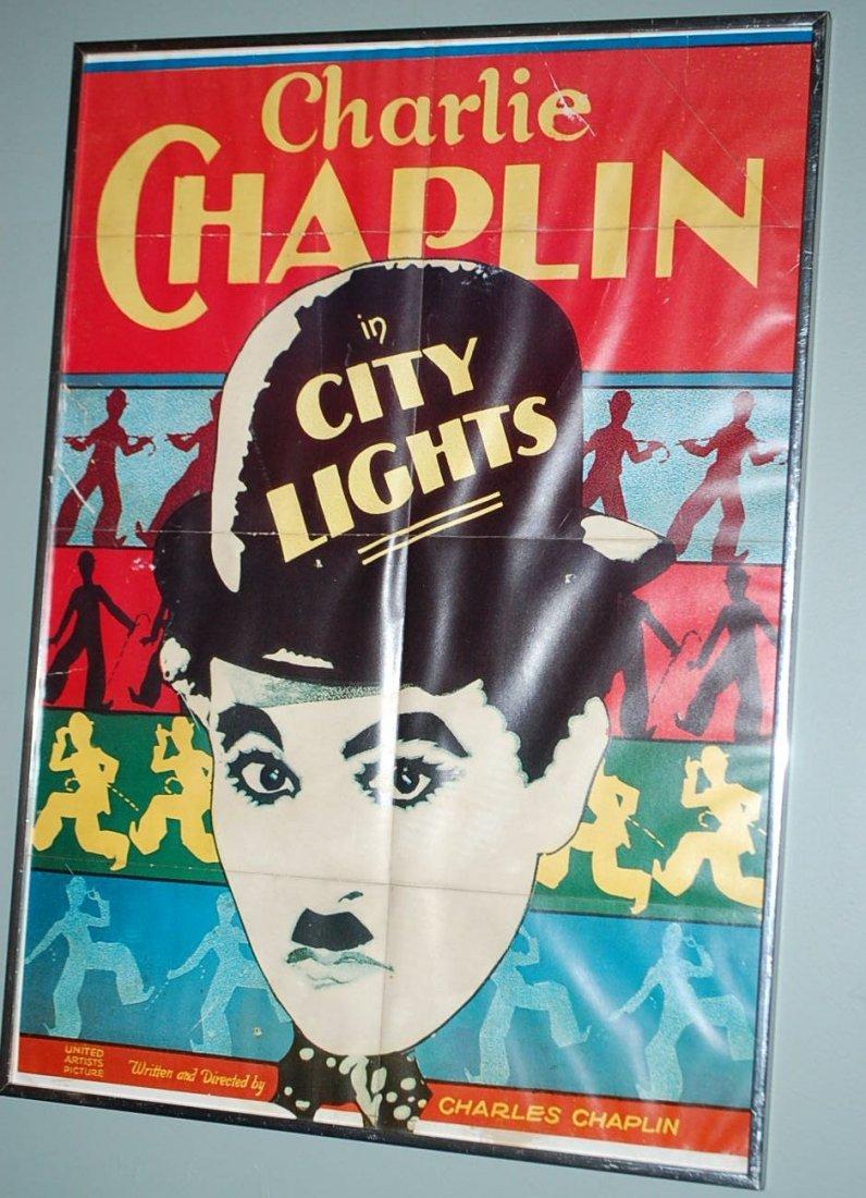 CHARLIE CHAPLIN LOBBY CARD POSTER