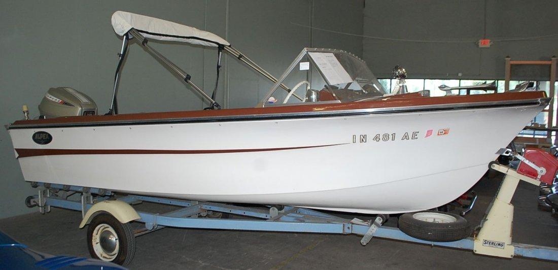 1967 ALPEX SEA AIRA 16' ALUMA CRAFT POWER BOAT