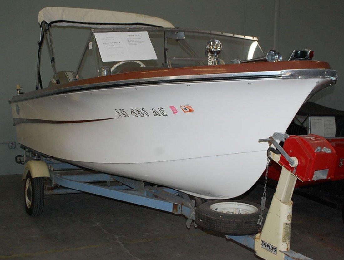 1967 ALPEX SEA AIRA 16' ALUMA CRAFT POWER BOAT - 2
