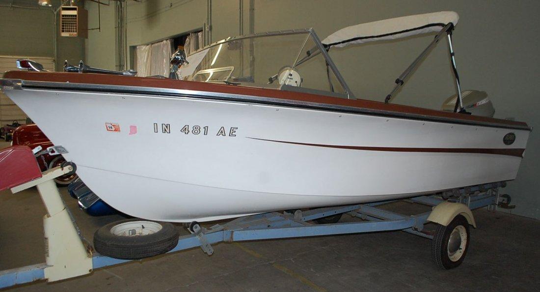 1967 ALPEX SEA AIRA 16' ALUMA CRAFT POWER BOAT - 4