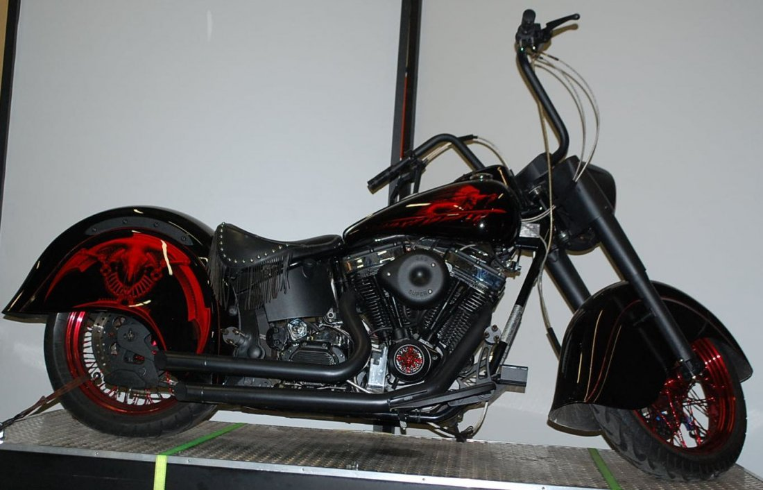 1999 INDIAN CHIEF CUSTOM MOTORCYCLE - 2