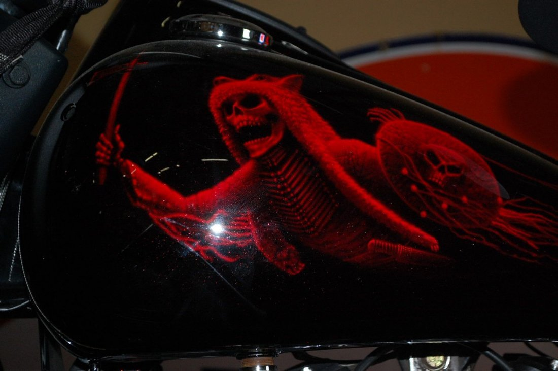1999 INDIAN CHIEF CUSTOM MOTORCYCLE - 5