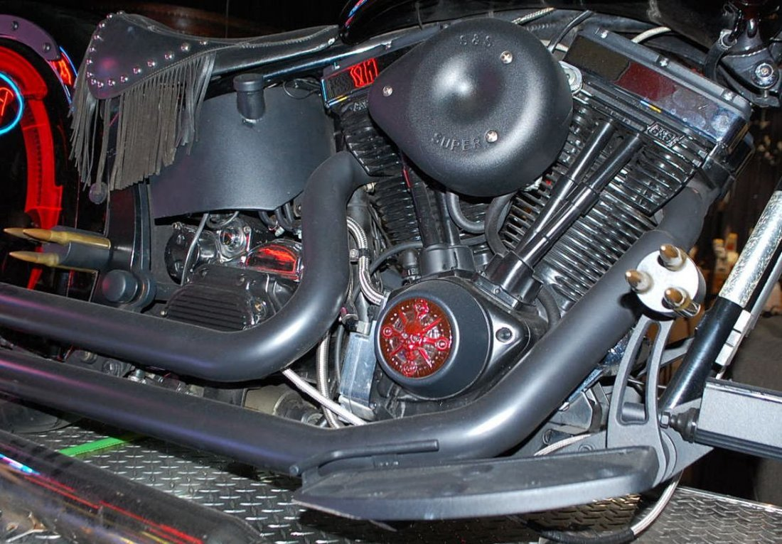 1999 INDIAN CHIEF CUSTOM MOTORCYCLE - 9
