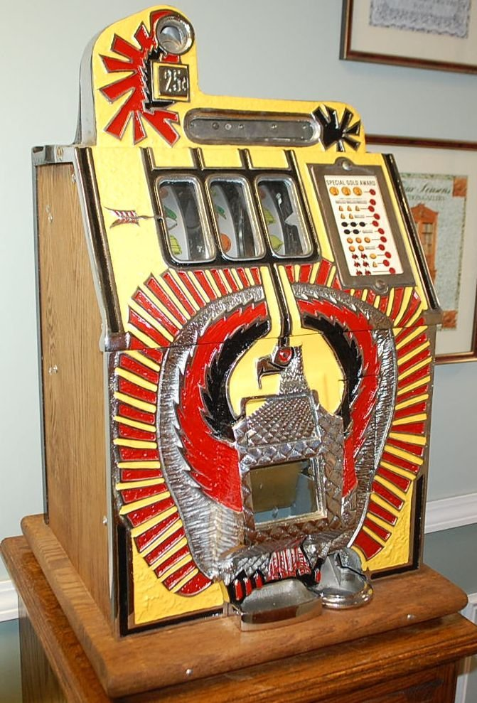 WAR EAGLE SLOT MACHINE