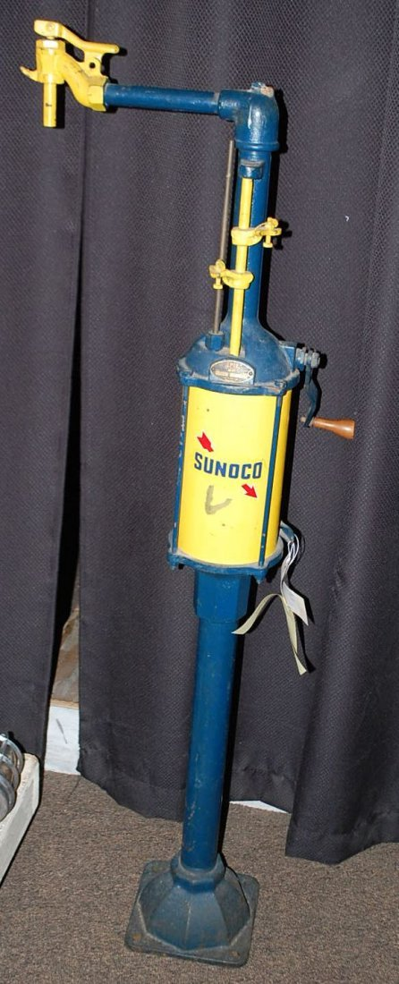 EARLY SUNOCO PUMP
