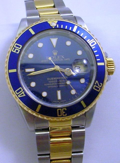 ROLEX 18K GOLD & STAINLESS SUBMARINER