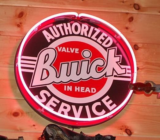 AUTHORIZED BUICK SERVICE NEON