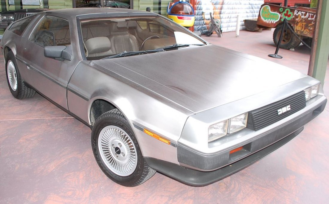 1981 DELOREAN STAINLESS GULLWING CAR
