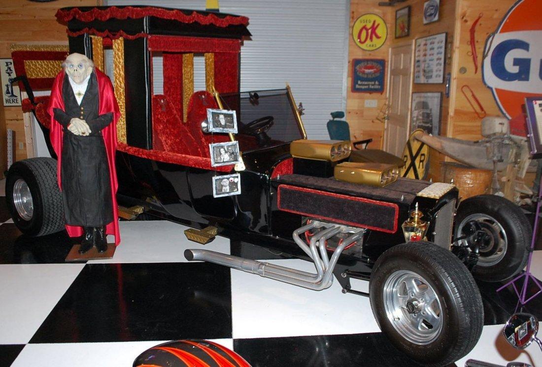 RARE MUNSTER MOBILE WAGON DRAGSTER CAR