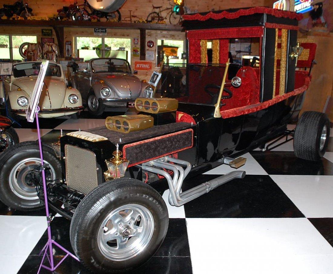 RARE MUNSTER MOBILE WAGON DRAGSTER CAR - 3