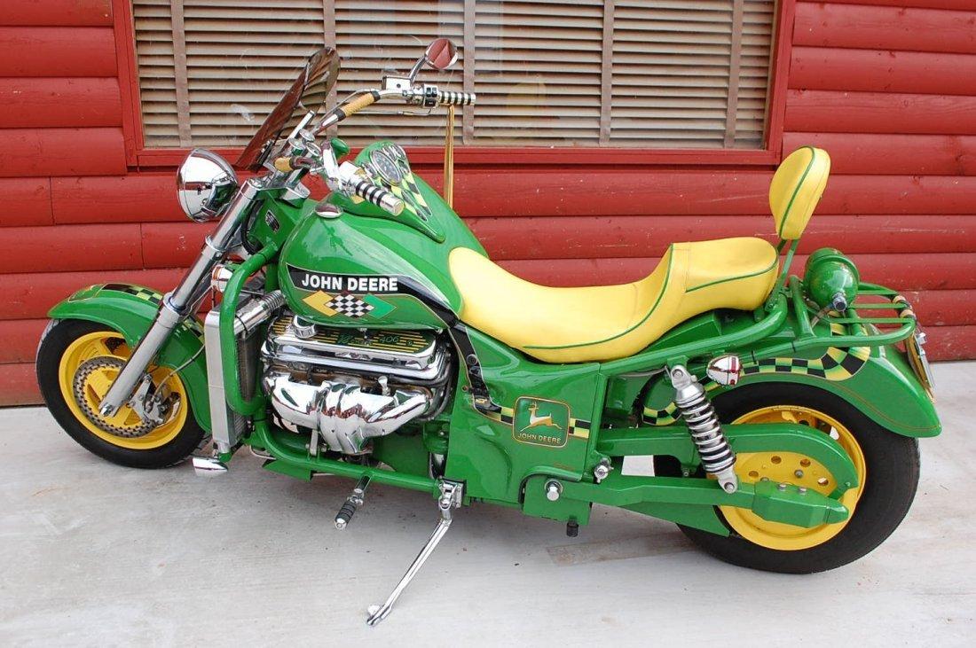 1999 BOSS HOSS JOHN DEERE PATENT MOTORCYCLE