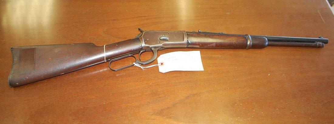 1892 WINCHESTER TRAPPER RIFLE 25-20