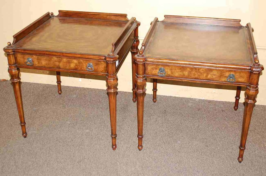Pair of Theodore Alexander End Tables