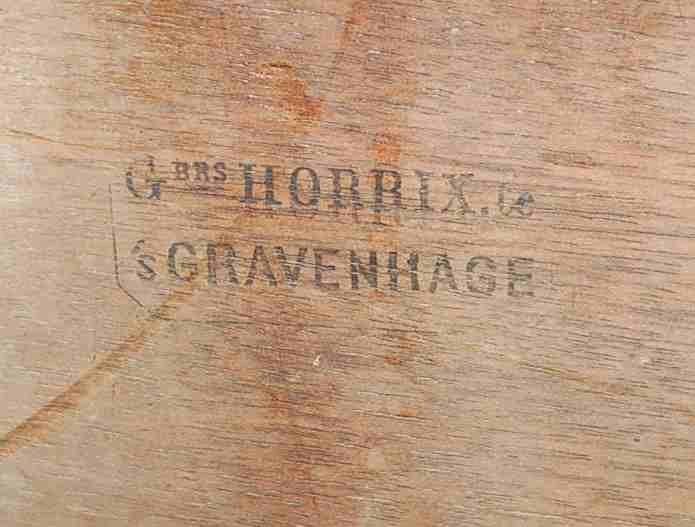 G BRS Horrix.Ce's Gravenhage Antique High Chair - 2