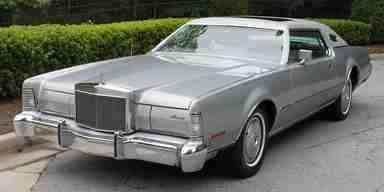 1973 LINCOLN CONTINENTAL SILVER EDITION MARK IV
