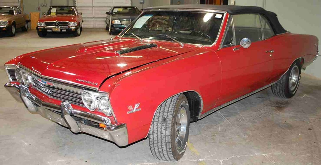 1967 CHEVY CHEVELLE BIG BLOCK 396