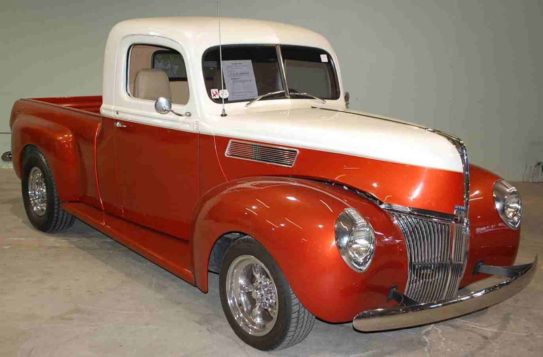 FANTASTIC 1941 FORD HOT ROD PICK UP TRUCK