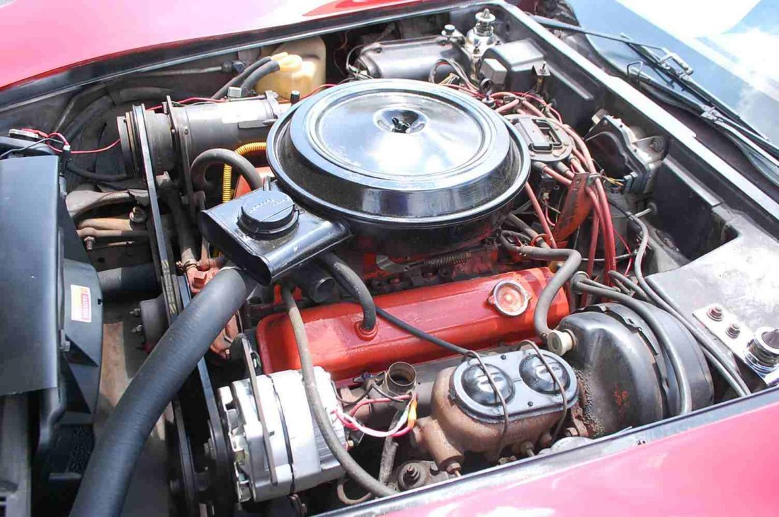 1976 CHEVY CORVETTE L-84 - 8