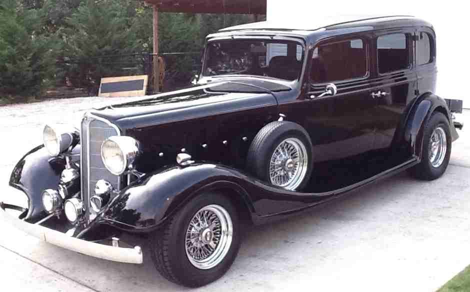 RARE 1933 BUICK RESTO-MOD WITH 454 ENGINE