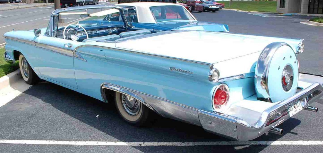 1959 FORD SKYLINER RETRACTABLE HARDTOP CONVERTIBLE - 5