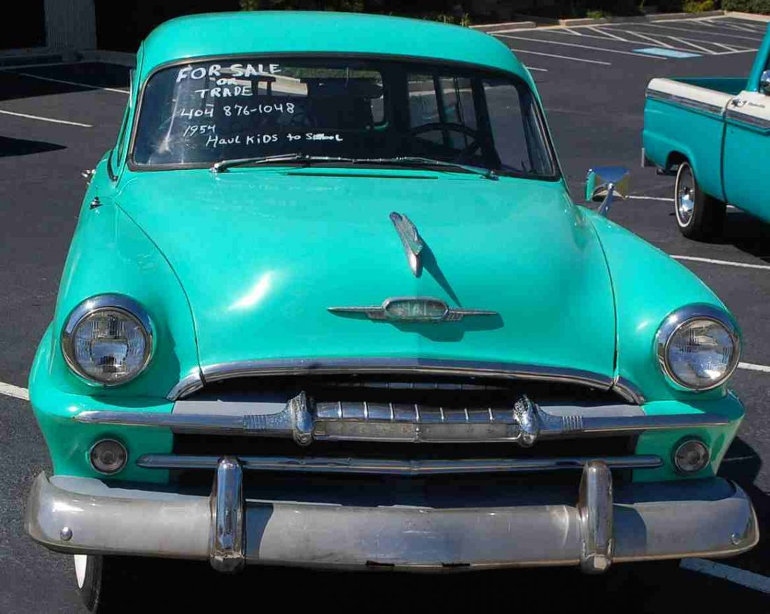 RARE 1954 PLYMOUTH TWO DOOR STATION WAGON - 2