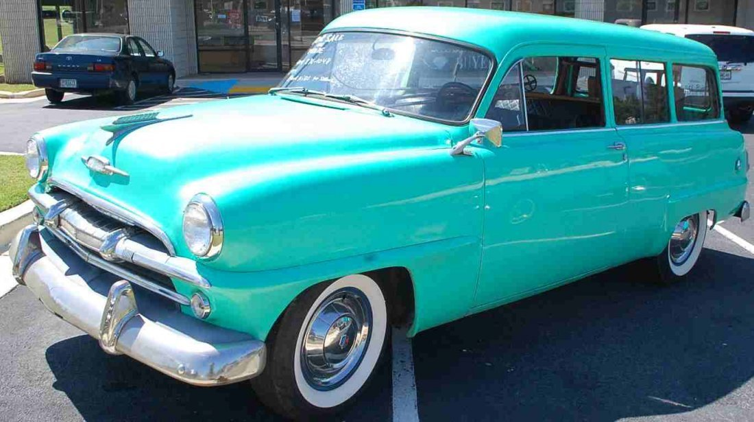 RARE 1954 PLYMOUTH TWO DOOR STATION WAGON - 3